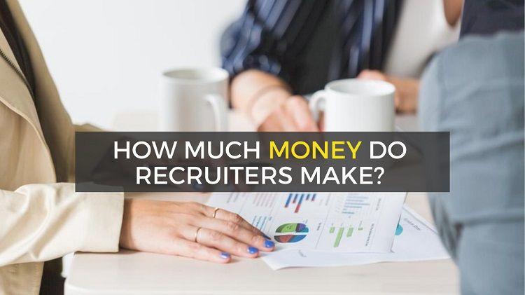 how much money do recruiters make - average recruiter salary