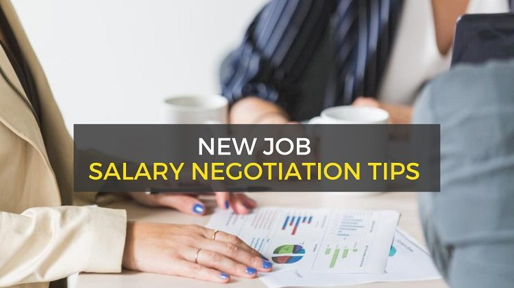 interview salary negotiation tips for new job