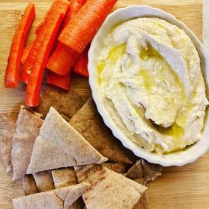 Hummus and Pita/Veggies photo